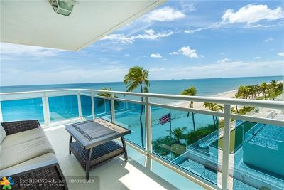 Fort Lauderdale Condo/Townhouse For Sale: 3430 Galt Ocean Dr #507
