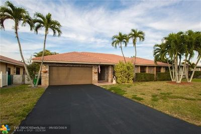Coral Springs Single Family Home For Sale: 6601 NW 52nd Street