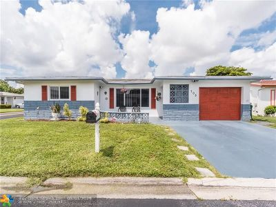 Margate Single Family Home For Sale: 705 NW 74th Ter