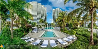 Fort Lauderdale Condo/Townhouse For Sale: 2200 N Ocean Blvd #N207