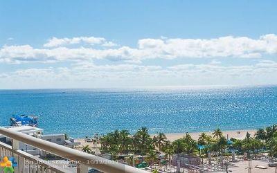 Pompano Beach Condo/Townhouse For Sale: 201 N Ocean Blvd #PentHous