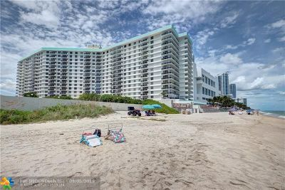 Hollywood Condo/Townhouse For Sale: 3725 S Ocean Dr #1403
