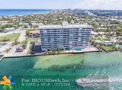 Pompano Beach Condo/Townhouse For Sale: 2611 Riverside Dr #604