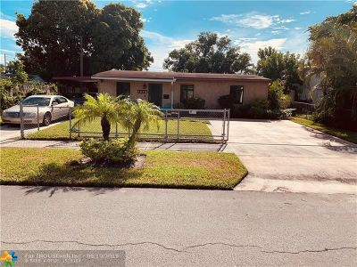 Pompano Beach Single Family Home For Sale: 1582 NW 4th Ave