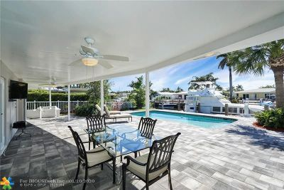 Pompano Beach Single Family Home For Sale: 1061 NE 27th Ter