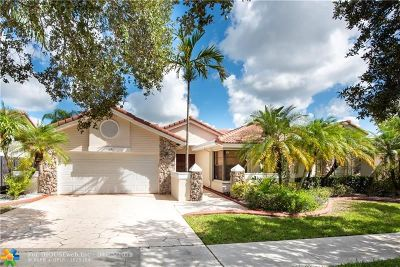 Plantation Single Family Home For Sale: 10681 NW 18th Ct