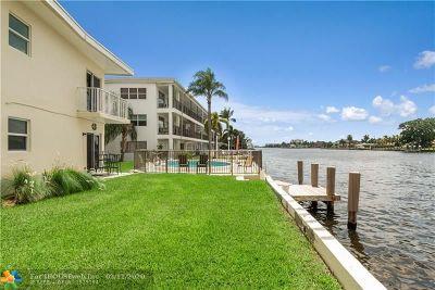 Pompano Beach Condo/Townhouse For Sale: 615 S Riverside Dr #10