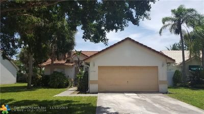 Delray Beach Single Family Home For Sale: 3752 S Lancewood Pl