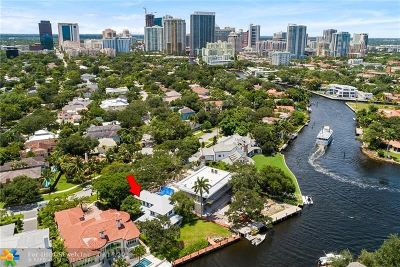 Fort Lauderdale Single Family Home For Sale: 1209 N Rio Vista Blvd