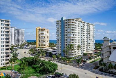 Pompano Beach Condo/Townhouse For Sale: 201 N Ocean Blvd #803