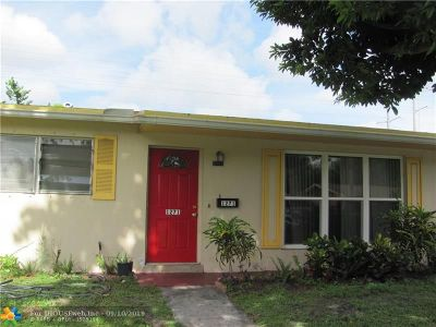 Lauderhill Single Family Home For Sale: 1271 NW 51st Ave