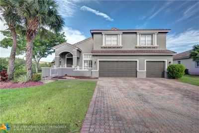 Coral Springs Single Family Home For Sale: 5689 NW 108th Ter