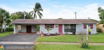 Plantation Single Family Home For Sale: 4321 NW 4th Ct