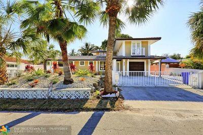 Pompano Beach Single Family Home For Sale: 561 SE 3rd Ave
