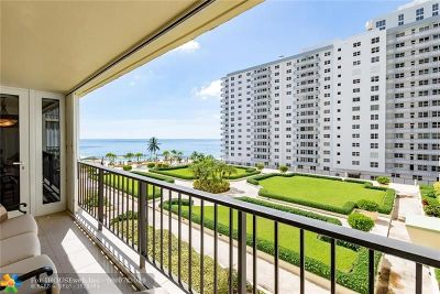 Condo/Townhouse For Sale: 4280 Galt Ocean Dr #4G