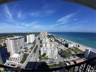 Hollywood Condo/Townhouse For Sale: 2101 S Ocean Dr #2405
