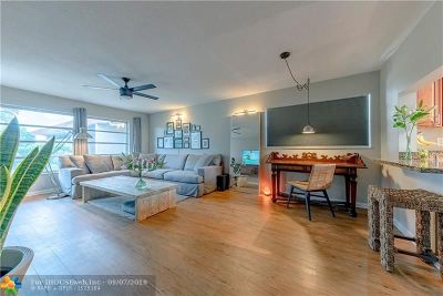 Fort Lauderdale Condo/Townhouse For Sale: 4025 N Federal Hwy #321A