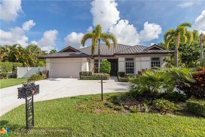 Delray Beach Single Family Home For Sale: 2771 Hampton Circle North