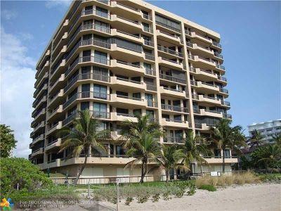 Pompano Beach Condo/Townhouse For Sale: 1300 S Ocean Blvd #404