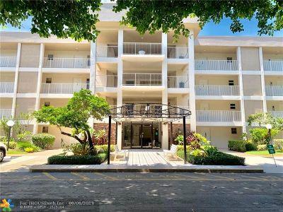 Pompano Beach Condo/Townhouse For Sale: 2601 S Course Dr #203