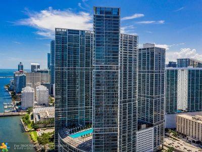 Miami Condo/Townhouse For Sale: 465 Brickell Ave #5504