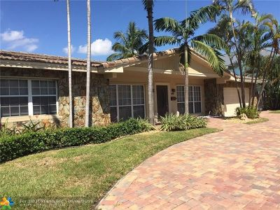 Lighthouse Point Single Family Home For Sale: 3801 NE 25th Ave