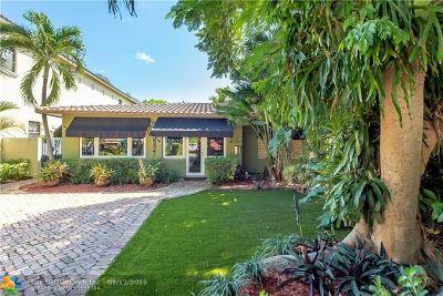 Fort Lauderdale Single Family Home For Sale: 532 NE 12 Ave