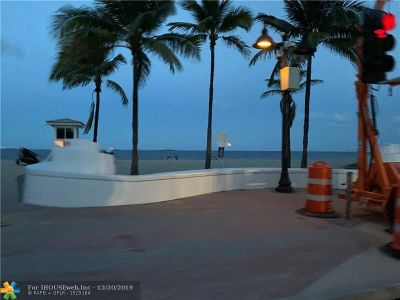 Fort Lauderdale Condo/Townhouse For Sale: 200 S Birch Rd #807