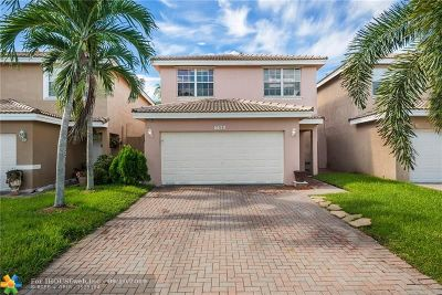Lauderhill Single Family Home For Sale: 6670 NW 38th Dr