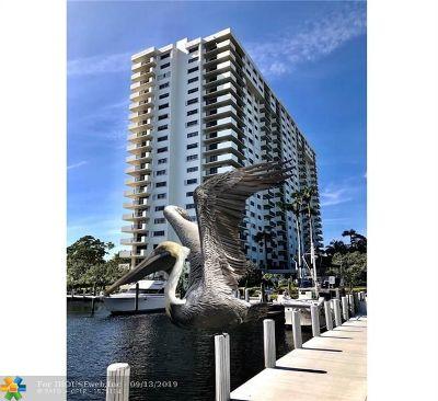 Fort Lauderdale Condo/Townhouse For Sale: 3200 Port Royale Dr #1202