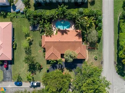 Coral Springs Single Family Home For Sale: 11190 NW 23rd Ct