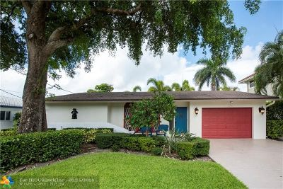 Pompano Beach Single Family Home For Sale: 321 SE 13th Ave