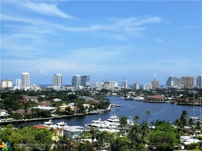 Fort Lauderdale Condo/Townhouse For Sale: 900 NE 18th Ave #PH1408