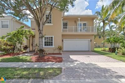 Coral Springs Single Family Home For Sale: 12668 NW 7th St
