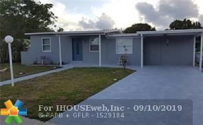 Pompano Beach Single Family Home For Sale: 5233 NE 15th Ave