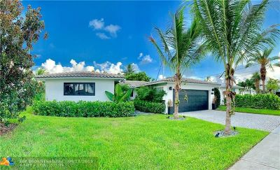 Fort Lauderdale Single Family Home Backup Contract-Call LA: 1200 Tangelo Isle