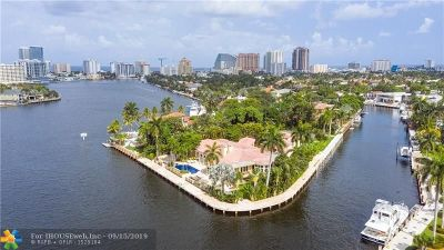 Fort Lauderdale Single Family Home For Sale: 2300 Aqua Vista Blvd