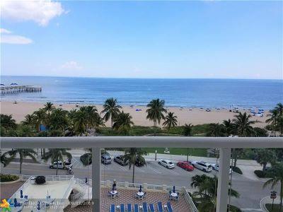Pompano Beach Condo/Townhouse For Sale: 111 N Pompano Beach Blvd #914