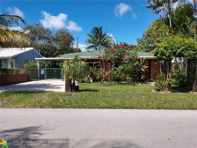 Fort Lauderdale Single Family Home For Sale: 1223 NW 1st Ave