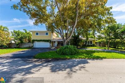 Fort Lauderdale Single Family Home For Sale: 2608 NE 27th Ter