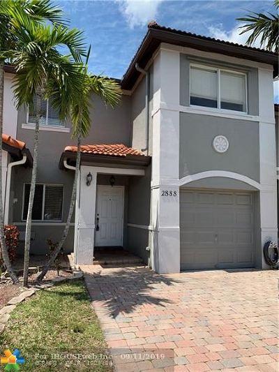 Miramar FL Condo/Townhouse For Sale: $319,900