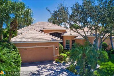Delray Beach Single Family Home For Sale: 13818 Viale Venezia