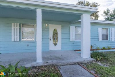 Fort Lauderdale Single Family Home For Sale: 1108 SW 25th Ave