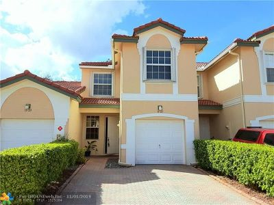 Coral Springs FL Condo/Townhouse For Sale: $305,000