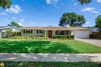 Plantation Single Family Home For Sale: 7361 NW 13th Ct