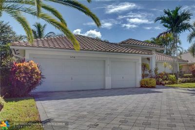 Coral Springs Single Family Home Backup Contract-Call LA: 5708 NW 46th Dr
