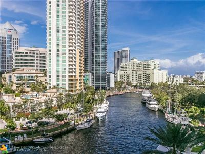 Fort Lauderdale Condo/Townhouse For Sale: 511 SE 5th Ave #2115