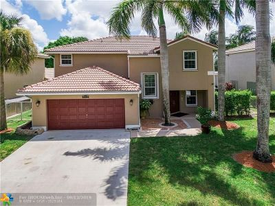 Coconut Creek Single Family Home For Sale: 4062 NW 63rd St
