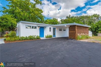 Fort Lauderdale Single Family Home For Sale: 3106 SW 15th St