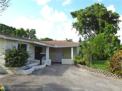 Lauderdale Lakes Single Family Home For Sale: 3111 NW 46th Ave